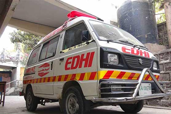 Seven injured as passenger bus overturns in Jhelum