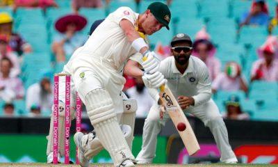 Bad light halts play in Australia India Test