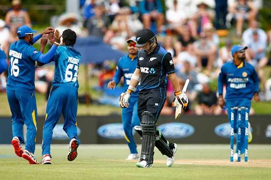 New Zealand 179 for seven in T20 against Sri Lanka
