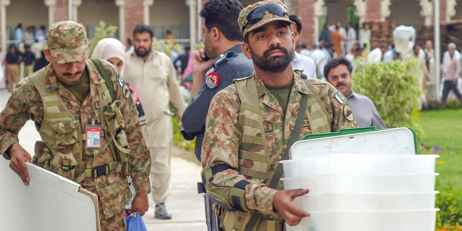 Army deployed to ensure fool proof security for PK-30 by-election