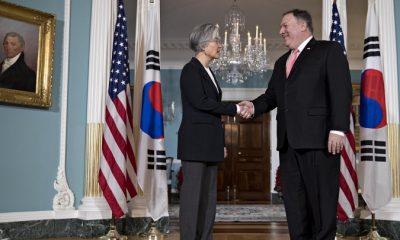 Pompeo S.Korean FM hold talks on DPRK denuclearization