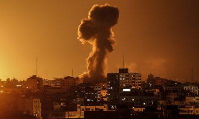 Israeli warplanes strike Gaza claiming in response to rocket attack