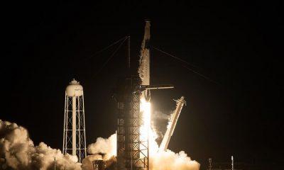 U.S. Crew Dragon spacecraft starts test unmanned flight
