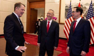 US Chinese negotiators resume productive trade talks